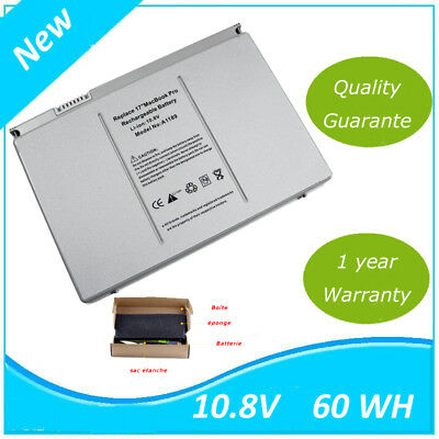 """Batterie For Apple 17"""" MacBook Pro A1261 A1189 A1212 A1151 A1229 MA458 MA092LL/A"""
