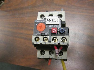 Telemecanique Overload Relay LR.D1516 6-13A 600V 3P Used