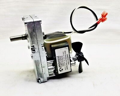 EARTH STOVE Auger Feed Motor for Pellet Stoves - 15070 - 6 RPM CW- 1 Yr Warranty