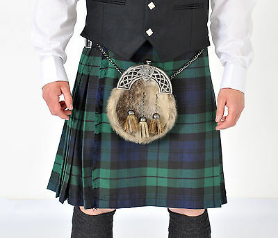 New Black Watch 5 YD wool Kilt Made in Scotland £179 clearance offer £139