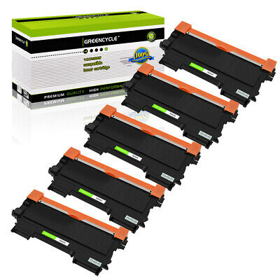 5 Pack TN450 Toner Cartridge For Brother MFC-7360N MFC-7460DN MFC-7860DW HL-2240