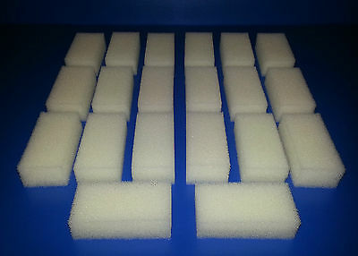 Fluval 1 Plus Compatible High Quality Filter Sponge Foam Pads Replacement Media
