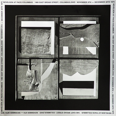 Louise Nevelson-End of Day-1975 Foil Print
