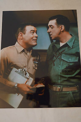 JIM NABORS - Gomer Pyle - Signed Colour Photo - Signed by Jim w/ COA.