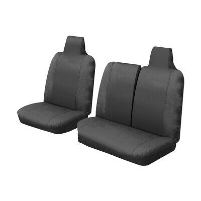 Canvas Car Seat Covers Toyota Hiace Lwb Van 3/2005-On