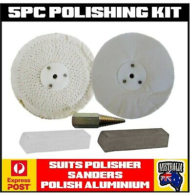 Metal Alloy Polishing Polish Kit Sander/polisher Truck Aluminium Bullbar Tank