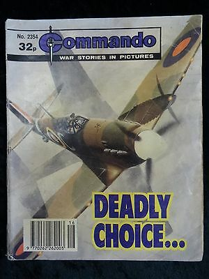 Comic - Commando No 2354, Deadly Choice.