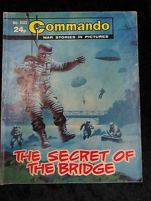 Comic - Commando No 2023, The Secret Of The Bridge.