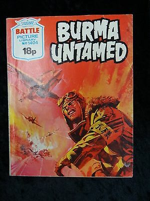Comic - Battle Picture Library No 1404, Burma Untamed.