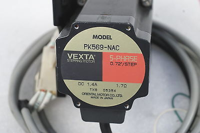 Vexta 5 Phase Pk569-Nac With A Mounting Bracket Tested Working Free Ship