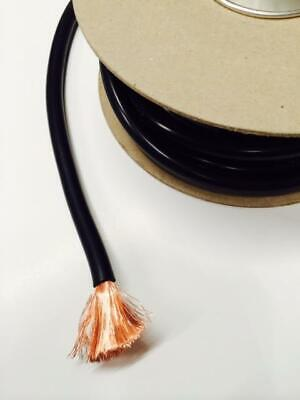1M Black Single Core Cable 485 Amp For Car Installation Power Cord