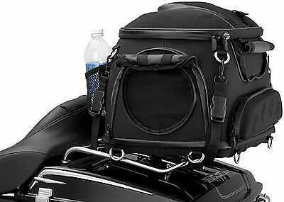 Motorcycle Pet Palace Dog/Cat Travel Taxi Carrier Black