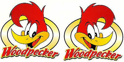 OEM JDM Stickerbombing Tuning Oldschool Woodpecker Aufkleber Sticker Retro
