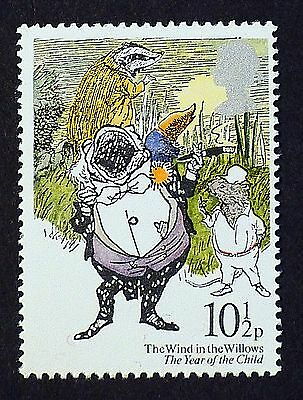 The Wind in the Willows - Mr. Toad, Ratty and Badger on 1979 Stamp - U/M