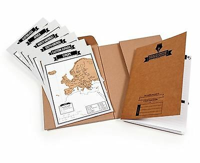 Travelogue travel Journal With Maps to record your trip