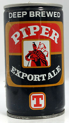 Vintage Beer Can: PIPER Export Ale