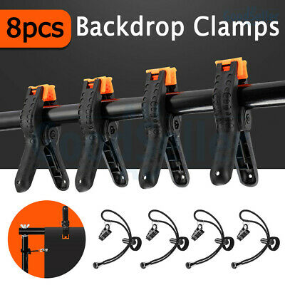 5pcs Professional Photography Background Clips Clamps Pegs For Studio Backdrop