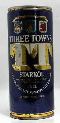 Vintage Beer Can: THREE TOWNS Starkol