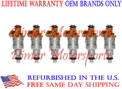 Lifetime Warranty - Genuine Siemens Deka Fuel Injector Set (6)