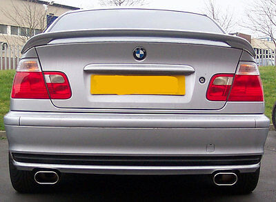 bmw 318i compact (e36) custom cat back stainless steel exhaustbmw 318i (e46) custom cat back stainless steel exhaust twin exit