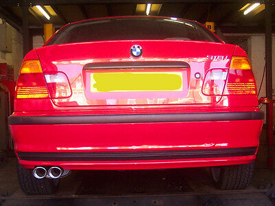 bmw 318i compact (e36) custom cat back stainless steel exhaustbmw 318i (e46) custom cat back stainless steel exhaust twin tail