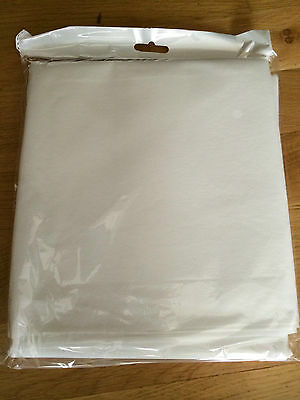 4 Pack of Pillow Protectors new standard size 49 x 73cm white bedding