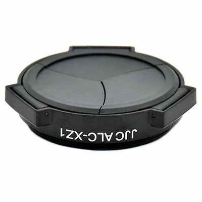 JJC Automatic Open/Close Lens Cap for Olympus XZ1 Digital Camera - New Version