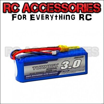 3000mAh High Discharge LiPo Battery Pack 22.2v 6 s Cell 20C 30C RC Helicopter UK