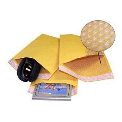 Yens® 25 #1 Kraft Bubble Padded Envelopes Mailers 7.25 X 12 25KF1