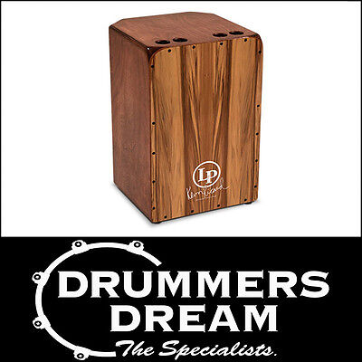 LP Latin Percussion AMERICANA KEVIN RICHARD CAJON LP1424 Heartwood front drum