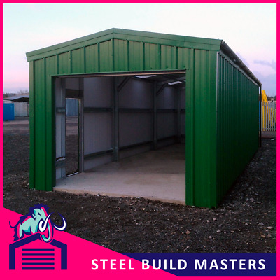 Workshop/storage Building By Steel Build Masters