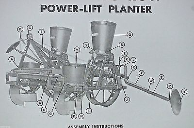 Burch Plow Works Tru-Blue Corn Seed Planter Owner's Manual & Parts List Reprint