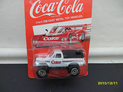 COCA COLA WHITE PICK UP BY HARTOY 1/64 SC.#2 b138