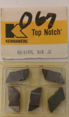 Kennametal NB2R K68 Lathe Carbide 10 Inserts Grooving Cut Off Top Notch New