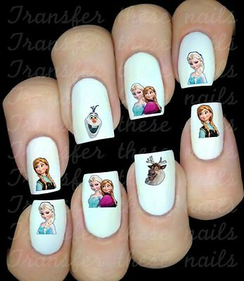 FROZEN La reine des neiges Stickers autocollant ongles manucure nail art déco