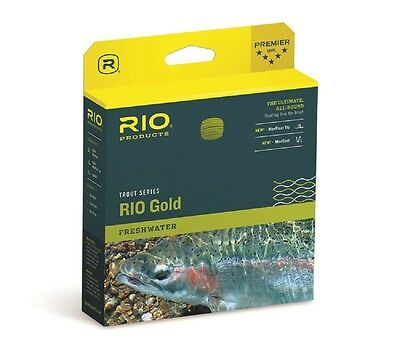 RIO Gold Fly Line - Max Float - Floating Trout Fly Line - RIO Dealer- 2018 Stock