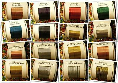Wire 20 to 34 gauge. 16 Types for Craft Floristry Model Making Jewellery Beading