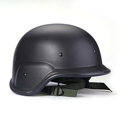 Army Military Tactical Gear Airsoft Paintball SWAT Protective Helmet Black