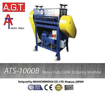 ATS–1000B HeavyDuty Scrap Cable Wire Stripper/Stripping Machine,Copper Recycling