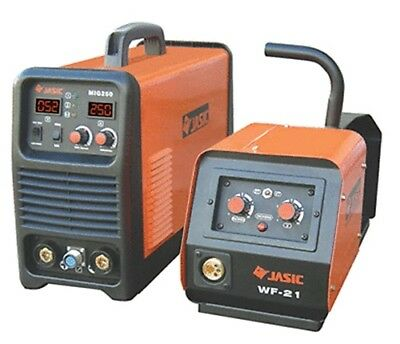 "JASIC PRO MIG 250 SEPARATE WIRE FEED MIG/TIG/MMA WELDER - ""Lowest Price Promise"""