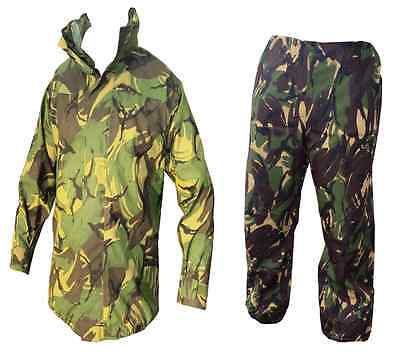 Fishing Storm Suit - Goretex Woodland Camo Jacket + Trousers - Waterproof