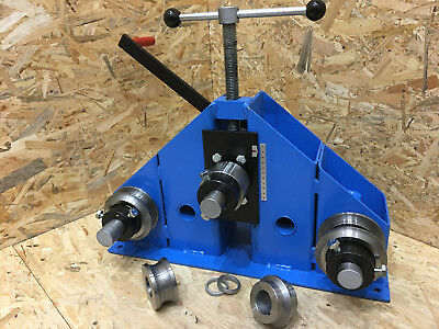 Heavy Duty Ring Roller / Roll Bender - Round / Square / Flat Bars,Tubes