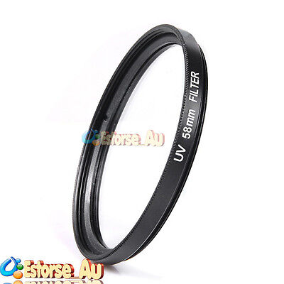 58mm UV Ultra-Violet Filter Lens Protector For Canon EOS 1200D 18-55mm Lens