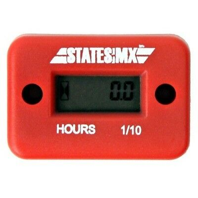 States MX Motocross Parts Accessories Red Dirt Bike Meter Motorbike Hour Metre