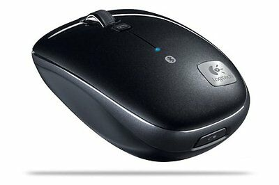 Logitech M555b Bluetooth Wireless Laster Mouse for Mac & PC -OPEN BOX