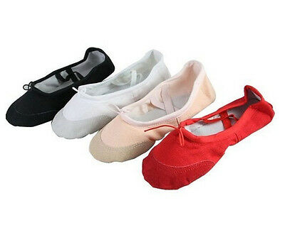 Soft Canvas Dancing Shoes Fitness Shoes Gymnastic Shoes Belly Dance/Balle Shoes