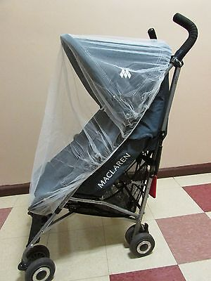 Baby Stroller Mosquito Insect Net cover, may also fit Bassinet and Car Seat