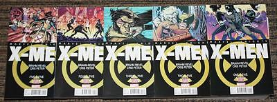 Marvel Knights X-Men (2013) # 1-5 COMPLETE SET - Revel & Peter - UNREAD