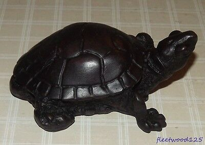 Decorative Collectible Resin Turtle Figurine #2
