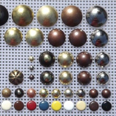 Upholstery Nails Studs  6,10,16,18,19,24mm  Low & High Domed  Tacks,Chair